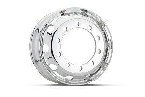 Roda de Alumínio para Caminhão Alcoa 22,5  x 10 Furos