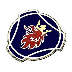 Scania Série 4 - Emblema Galo do Capô Metálico