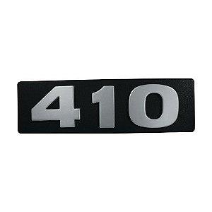 Emblema / Letreiro Frontal da Potência 410 Scania T 113