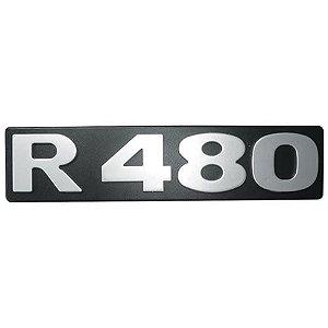 Emblema / Letreiro R 480 Scania Série 4