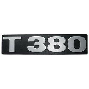 Emblema / Letreiro T 380 Scania Série 4