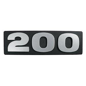 Emblema / Letreiro Frontal 200 Scania 113
