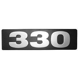 Emblema / Letreiro Frontal 330 Scania Série 4 até 2003
