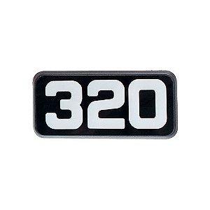 Emblema da Potência 320 para Volvo