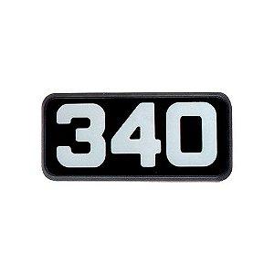 Emblema da Potência 340 para Volvo