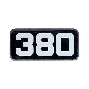 Emblema da Potência 380 para Volvo