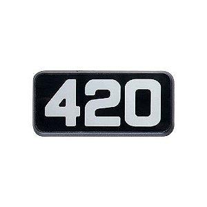 Emblema da Potência 420 para Volvo