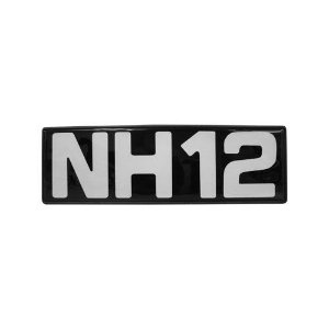 Emblema / Letreiro Frontal Volvo NH 12