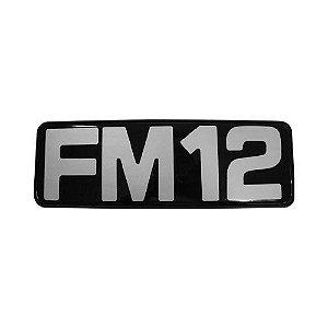 Emblema / Letreiro Frontal Volvo FM 12