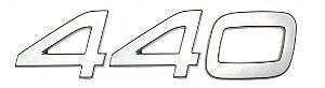 Emblema 440 para Volvo FH de 2010 a 2014
