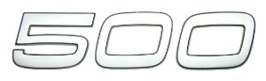Emblema 500 para Volvo FH de 2010 a 2014