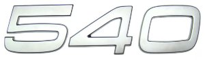 Emblema 540 para Volvo FH de 2010 a 2014