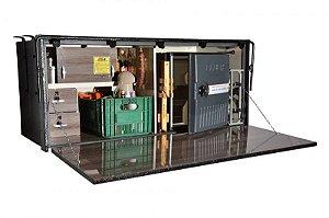 Cozinha para Caminhão Premium 155 x 67 x 64cm (Caixa)