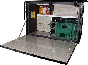 Cozinha para Caminhão Truck 95 x 60 x 64cm (Caixa)