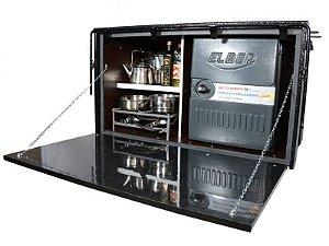 Caixa de Geladeira / Ferramenta + Fogão para Caminhão 118 x 67 x 64cm