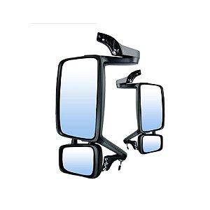 Espelho Retrovisor Completo FH 2010> Elétrico com Desembaçador e Braço de Alumínio