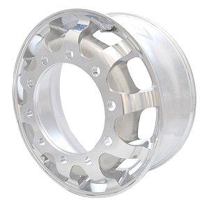 Roda de Alumínio para Caminhão GT1 Aro 22,5 x 8,25 (10 furos)