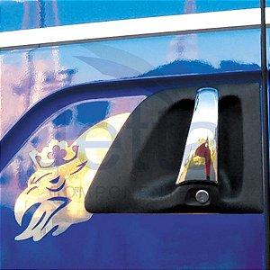 Moldura da Maçaneta em Inox Dragão para Scania Cab. P