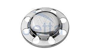 Tampa do Cubo da Tração Volkswagen Pesado e Semi-Pesado - Cromada Kit 2 un.