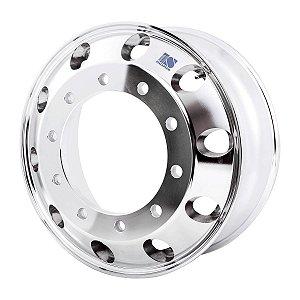 Roda de Alumínio para Caminhão GT2 Aro 22,5 x 8,25 (10 furos)
