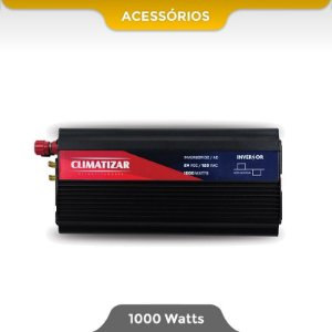 Inversor de Energia 24v para 110v (1000 Watts)