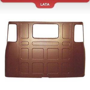 Scania L111 - Chapa Traseira Completa Leito