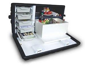 Cozinha para Caminhão com Caixa de Isopor 30 L Rodoplast