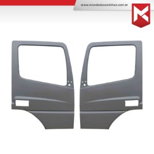 Folha de Porta Caminhão Mercedes Benz Axor / Atego Externa (Após 2012 Para a Linha Atego)