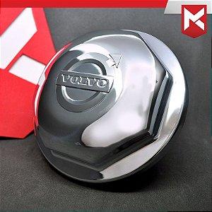 Tampa do Cubo Dianteiro para Volvo FH - Cromada Kit 2 un.