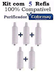 ATACADO - 5 Refis SF015 para Purificadores Colormaq