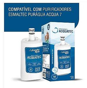 Refil Filtro Vela ACQUATEC para Purificadores Esmaltec ACQUA7 Puragua (SIMILAR)