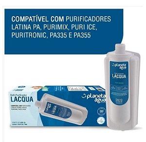 Refil Filtro Vela Lacqua  Purificadores Latina P355 3 Estágios (Similar)