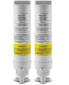 Kit Com 2 Refis / Filtro Para Purificador de Água Electrolux PE10B e PE10X (Original) PAPPCA20