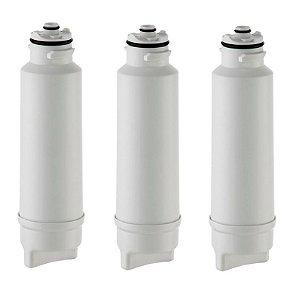 Kit com 3 Refil / Filtro Smart Flow Para Purificador de Água Electrolux - PA10N|PA20G|PA25G|PA30G e PA40G (Similar)