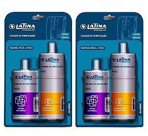 Kit com 2 Refis Latina Duplo P655 e P635 Purificadores PA755 / XPA775 / PN555 / VITAPLUS / VITASALI / VITASUPRA / VITAULTRA / MINERALIZER (Original)