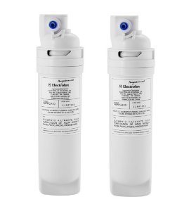 Kit com 2 Refis / Filtro Para Purificador de Água Electrolux PA10N / PA20G / PA25G / PA30G / PA40G (Original) PAPPCA10