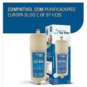 Refil / Filtro Top Web Para Purificador De Água Europa - HF by Hebe / Bliss - (Similar)