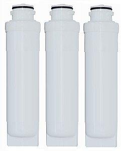 Kit Com 3 Refis / Filtro Vela Master Flow para Purificadores Electrolux PAPPCA20 (Similar) PE10B / PE10X