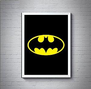 Quadro Poster 30x40 Logo Batman