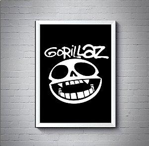 Quadro Poster 30x40 Gorillaz