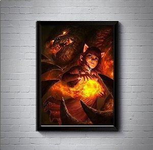 Quadro Poster 30x40 Annie