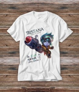 Camiseta Tristana - Is that a rocket in you pocket?