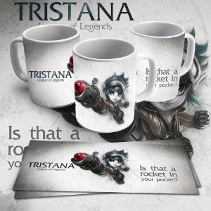 Caneca Tristana - Is that a rocket in you pocket?