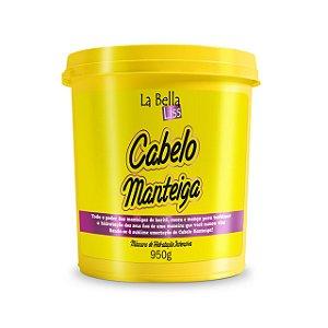 Máscara de Nutrição Capilar Cabelo Manteiga La Bella Liss 950g