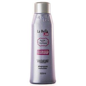 Loira no Chuveiro Efeito Platinado Shampoo Matizador La Bella Liss 500ml