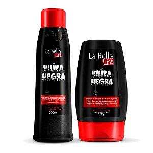 Kit Reconstrução Viúva Negra Shampoo 500ml e Leave-in 150g