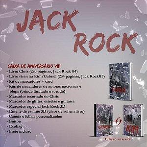 Caixa Jack Rock de aniversário VIP (Depósito:120,00. Checar desconto na Shopee)