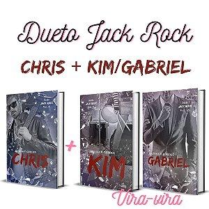 Dueto Jack Rock - Chris (#4) + Kim/Gabriel (#5 - vira-vira) + marcadores (Depósito:72,00. Checar desconto na Shopee)