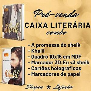CAIXA LITERÁRIA COMBO - A promessa de sheik + Khalil + brindes (edição especial) (À VISTA: 110)