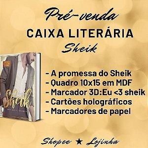 CAIXA LITERÁRIA: A promessa do sheik + brindes - edição especial ( À VISTA: 68,00). Checar valor na shopee
